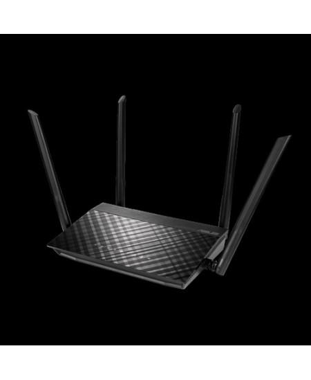 Asus Router RT-AC57U V3 802.11ac, 300+867 Mbit/s, 10/100/1000 Mbit/s, Ethernet LAN (RJ-45) ports 4, No mobile broadband, Antenna