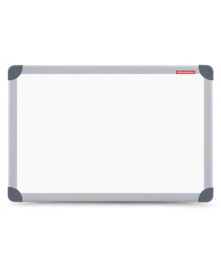 Balta magnetinė lenta MEMOBOARDS, 100x85 cm, aliuminio rėmas