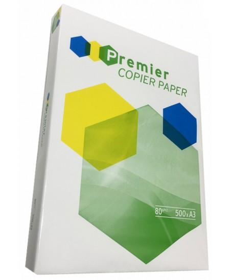 Popierius PREMIER COPIER, 80 g/m2, A3, 500 lapų