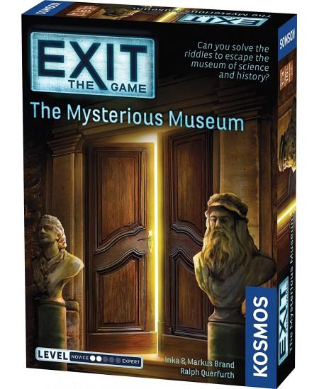 EXIT mokslinis žaidimas The Mysterious Museum