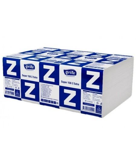 Lapiniai popieriniai rankšluosčiai GRITE Super 150 Z, 1 pakelis