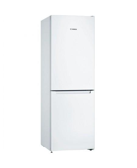 Bosch Serie 2 Refrigerator KGN33NWEB Energy efficiency class E, Free standing, Combi, Height 176 cm, No Frost system, Fridge net