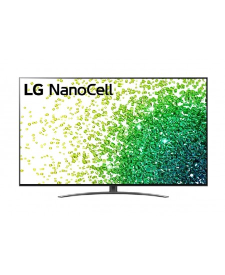 "LG 55NANO863PA 55"" (139 cm), Smart TV, WebOS, 4K UHD Nanocell, 3840 x 2160, Wi-Fi, DVB-T/T2/C/S/S2, Black"