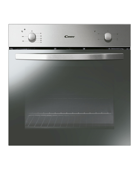 Candy Oven FCS100X Multifunction, 71 L, Stainless steel, Manual, A, Rotary knobs, Height 60 cm, Width 60 cm, Conventional