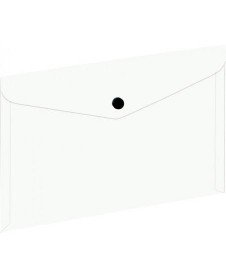 Dėklas - vokas su spaustuku EAGLE, A5, baltas