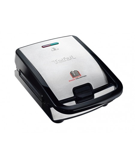 TEFAL Sandwich Maker SW854D 700 W, Number of plates 4, Number of pastry 2, Black/Stainless steel