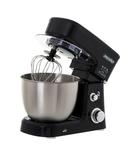 Mesko MS 4217 Food Processor, 1200 W, Number of speeds 6, Stainless steel/Black