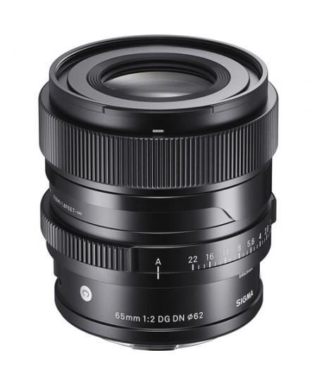Sigma 65mm F2.0 DG DN lens (Contemporary) Sony E