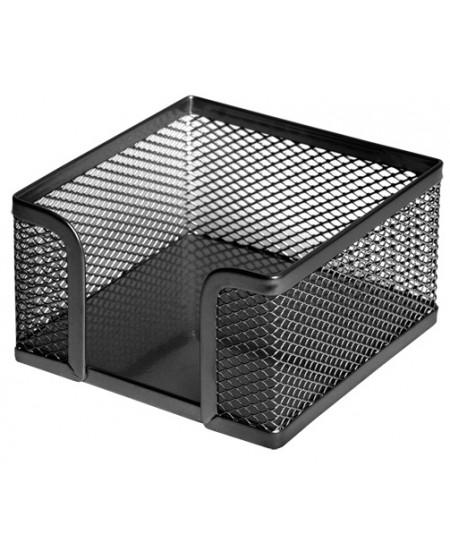 Dėžutė užrašų lapeliams FOROFIS, metalinė, juoda