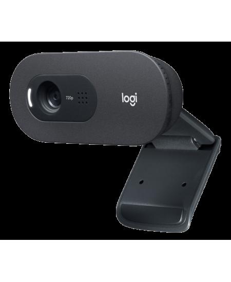 Logitech HD USB Webcam C505 Black, USB-A