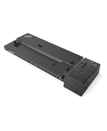 Lenovo ThinkPad Ultra Docking Station 40AJ0135EU, max 3 displays,  Ethernet LAN (RJ-45) ports 1, VGA (D-Sub) ports quantity 1, D