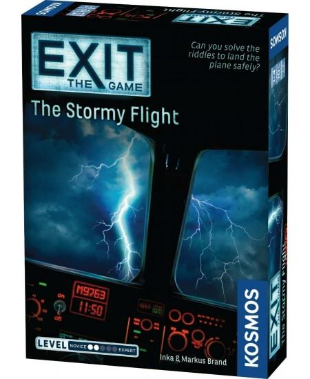 """EXIT mokslinis žaidimas """"The Stormy Flight"""""""