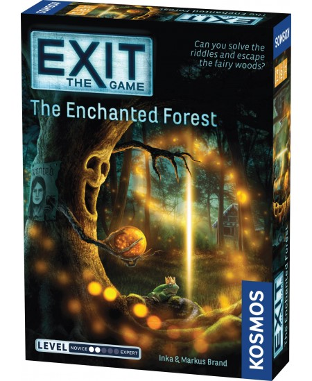 """EXIT mokslinis žaidimas """"The Enchanted Forest"""""""