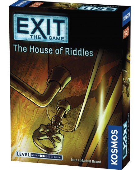 "EXIT mokslinis žaidimas ""The House of Riddles"""