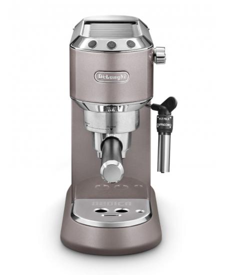 Delonghi Coffee Maker Dedica EC785.PK Pump pressure 15 bar, Built-in milk frother, Manual, 1300 W, Metallic Pink