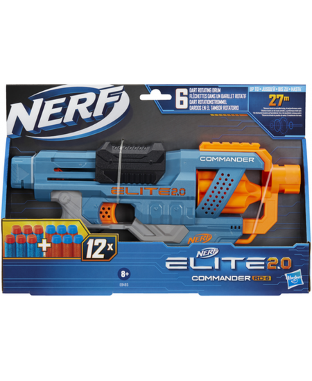 HAS NERF ELITE 2.0 šautuvas COMMANDER