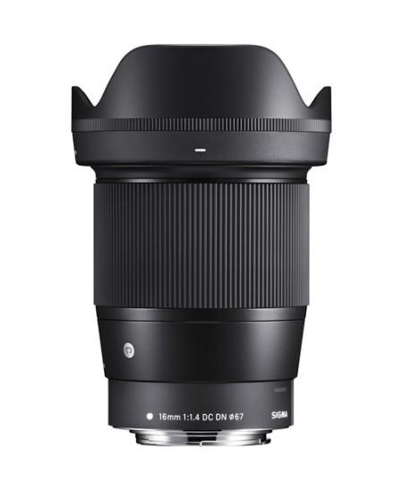 Sigma EF-M 16mm F1.4 DC DN for Canon [Contemporary]