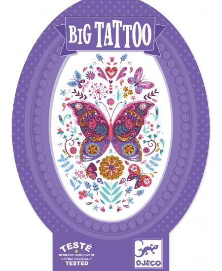 Didelė kūno tatuiruotė DJECO Drugelis