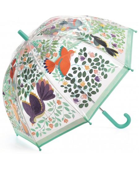 Vaikiškas skėtis DJECO Gėlės ir paukščiai
