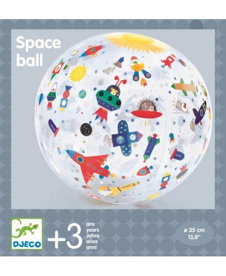Pripučiamas kamuolys DJECO Kosmosas, Ø35 cm