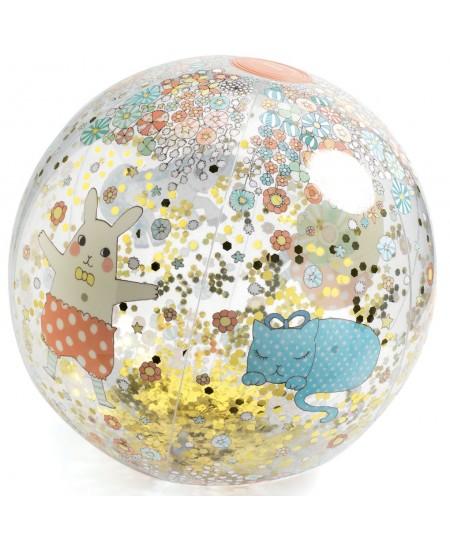 Pripučiamas kamuolys DJECO Kawaii, Ø35 cm