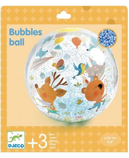 Pripučiamas kamuolys DJECO Burbulai, Ø35 cm