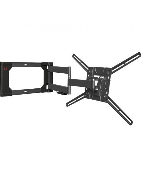 "Barkan Flat/ Curved TV Wall Mount 4400 Wall mount, Full motion, 40-80 "", Maximum weight (capacity) 50 kg, Black"