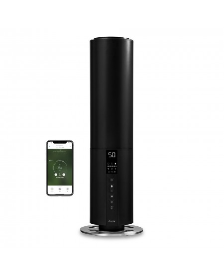 Duux Bundle of Beam Smart Ultrasonic Humidifier & Eucalyptus Aromatherapy 27 W, Water tank capacity 5 L, Ultrasonic, Humidif