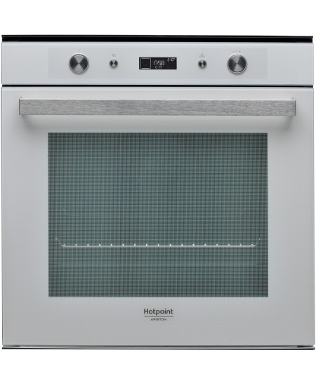 Hotpoint Oven FI7 861 SH WH HA 73 L, Electric, Hydrolytic, Knobs, Height 59.5 cm, Width 59.5 cm, White