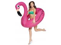 Pripučiamas ratas BIGMOUTH MAX Flamingas, 122x122x108 cm