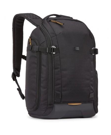 Case Logic Viso Slim Camera Backpack CVBP-105  Black, Molded EVA base , Egg crate foam, Rain cover