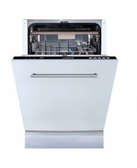CATA Dishwasher LVI 46010 Built-in, Width 45 cm, Number of place settings 10, Number of programs 4, Energy efficiency class E, W