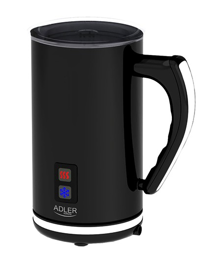 Adler AD 4478  Black,  Milk frother, 500 W