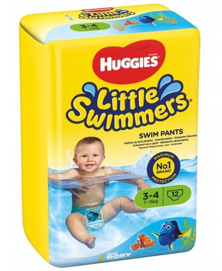 Sauskelnės maudynėms HUGGIES Little Swimmers, S, 7-15 kg