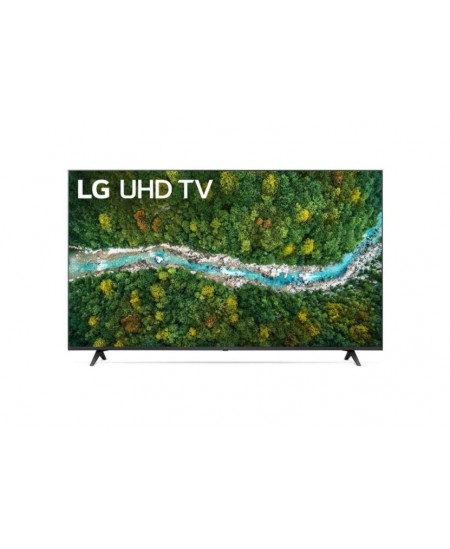 """LG 50UP77003LB  50"""" (127 cm), Smart TV, WebOS, 4K UHD, 3840 x 2160, Wi-Fi, DVB-T/T2/C/S/S2, Dark gray"""