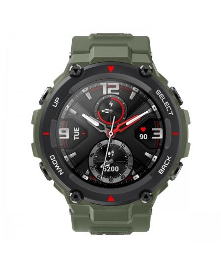 Amazfit T-Rex Smart watch, GPS (satellite), AMOLED Display, Touchscreen, Heart rate monitor, Activity monitoring 24/7, Waterproo