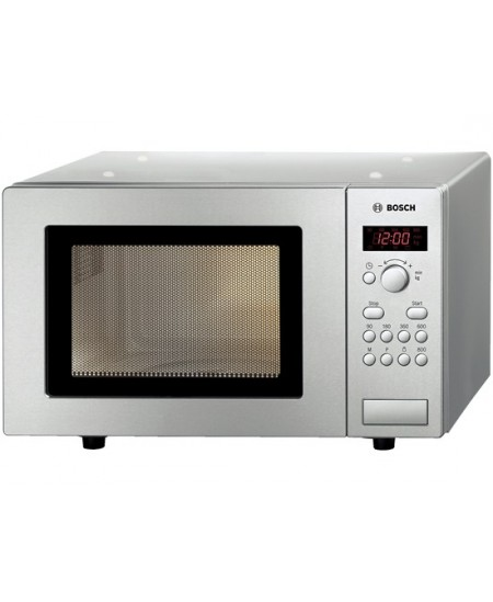 Bosch Microwave oven HMT75M451 Rotary, 800 W, Stainless steel, Defrost function, Free standing