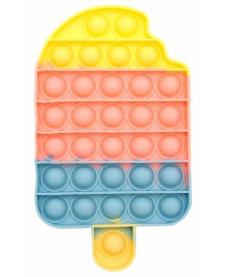 Antistresinis suvenyras POP IT Spalvoti ledai ant pagaliuko