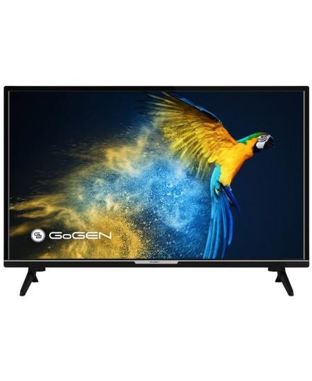 "GoGen LED Smart TV GOGTVH32M552STWEB 32"" (80 cm), Smart TV, Custom OS, HD Ready, 1366 × 768, Wi-Fi, DVB-C/S2/T/T2, Black"