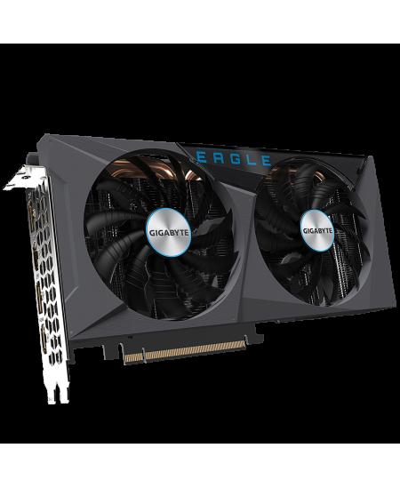 Gigabyte GV-N306TEAGLE OC-8GD 2.0 LHR version NVIDIA, 8 GB, GeForce RTX  3060 Ti, GDDR6, PCI-E 4.0 x 16, Processor frequency 169