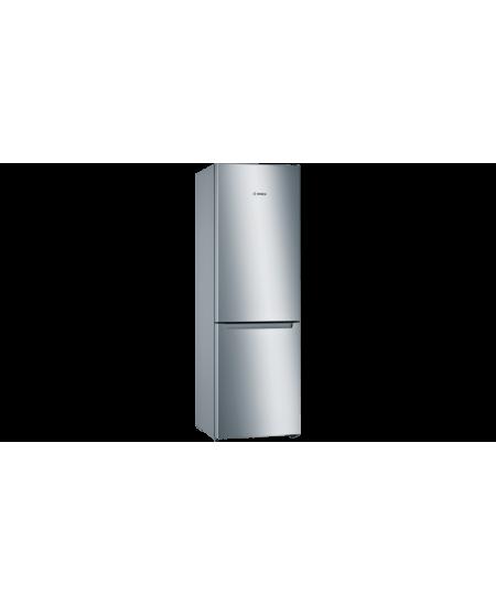 Bosch Serie 2 Refrigerator KGN33NLEB Energy efficiency class E, Free standing, Combi, Height 176 cm, No Frost system, Fridge net