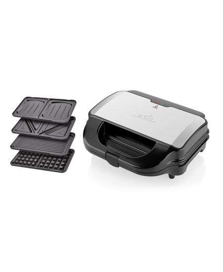 ETA Sandwich maker  Sorento ETA315190010 900 W, Number of plates 4, Number of pastry 2, Black/Stainless steel