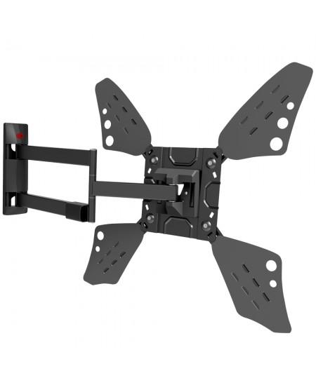 "Barkan Flat/ Curved TV Wall Mount 3400L Wall Mount, Full motion, 40-70 "", Maximum weight (capacity) 40 kg, Black"