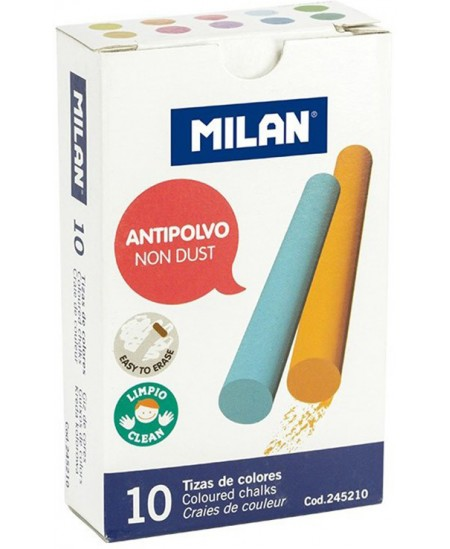 Kreida MILAN, 10 spalvų