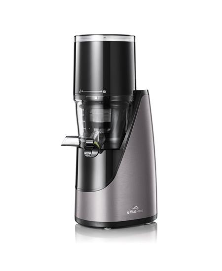 ETA Juicer  Vital Press  ETA103290000 Type Centrifugal juicer, Black/Silver, 200 W, Extra large fruit input, Number of speeds 1