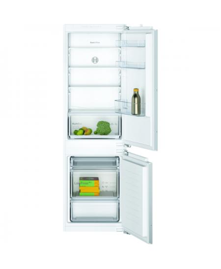 Bosch Serie 2 Refrigerator KIV86NFF0 Energy efficiency class F, Built-in, Combi, Height 177 cm, Fridge net capacity 183 L, Freez