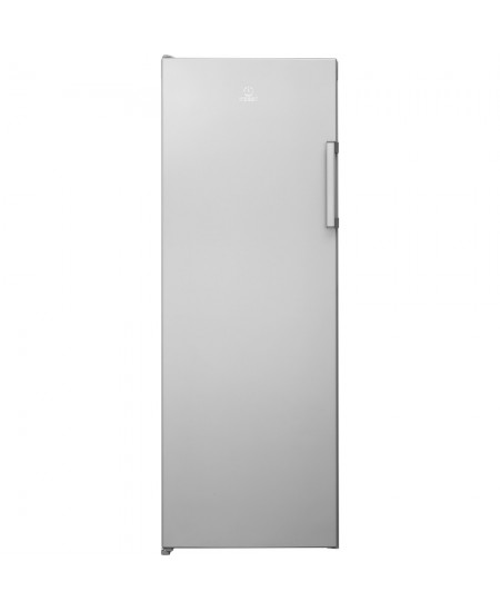 INDESIT Freezer UI6 1 S.1 Energy efficiency class F, Upright, Free standing, Height 167  cm, Total net capacity 233 L, Silver