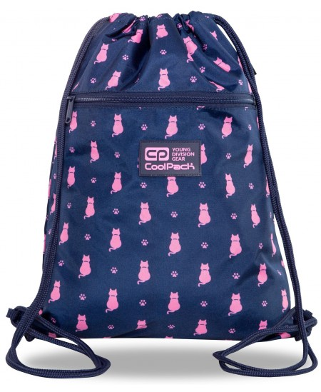 Sportinis krepšys COOLPACK Navy Kitty Vert