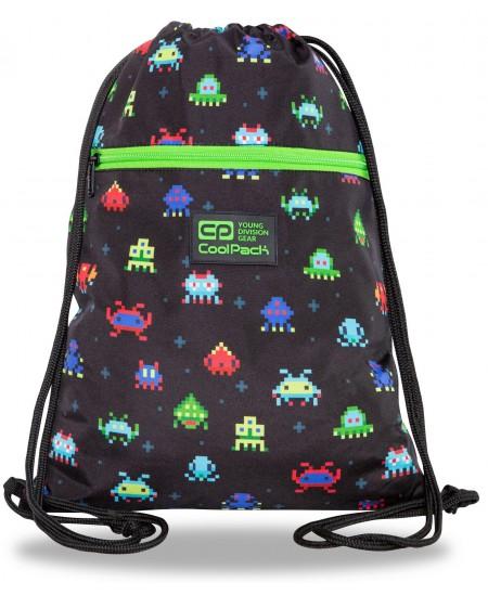 Sportinis krepšys COOLPACK Pixels Vert