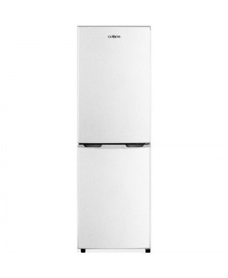 Goddess Refrigerator GODRCD0150GW8AF Energy efficiency class F, Free standing, Combi, Height 149 cm, Fridge net capacity 99 L, F